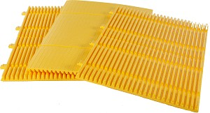 Park Sentry Round Panels - Yellow (carton of 3)